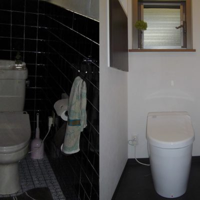 左:リフォーム前 右:リフォーム後