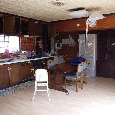 リフォーム前(キッチン)