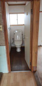リフォーム前(トイレ)